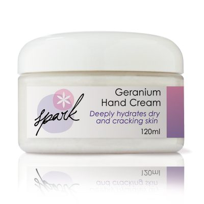Hand Cream with Geranium Essential oil
