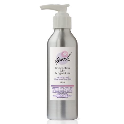 Body lotion with magnesium and Lavender Essential oil
