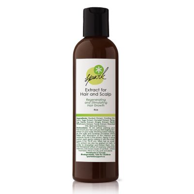 Hair extract with Burdock, Stinging Nettle, Turnip extracts