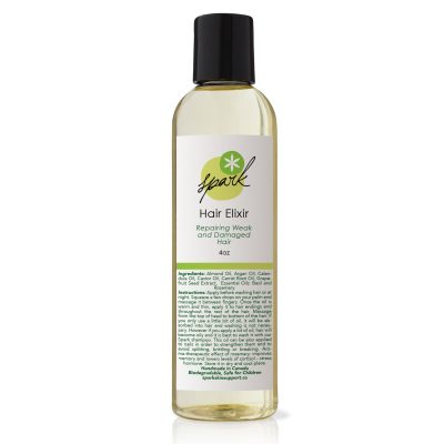 hair elixir with Carrot root oil