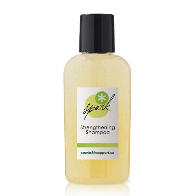 Travel size shampoo with stinging nettle and horsetail